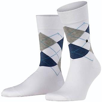 Burlington King Socks - White