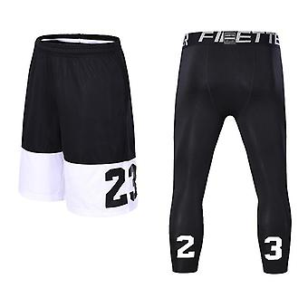 Mannen Basketbal Sports Gym Quick-dry Workout Shorts, Oefening Running Fitness