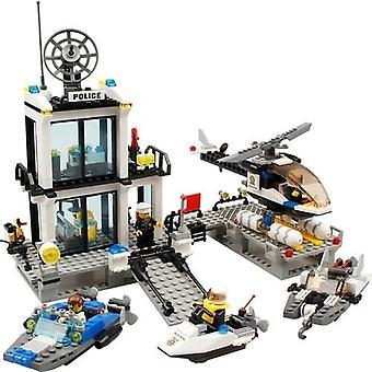 Blocks 6726 536 Piece Police Station Set