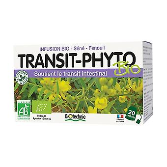 Transit phyto organic infusion 20 infusion bags