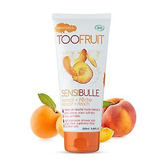 Sensibulle Peach Apricot - Shower Jelly 200 ml