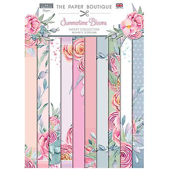 The Paper Boutique - Summertime Blooms Collection - Insert Collection
