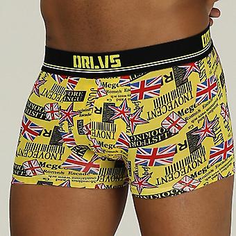 Orlvs Brand Men Underwear Boxer Cotton Mens Underpants Male Panties  Shorts U