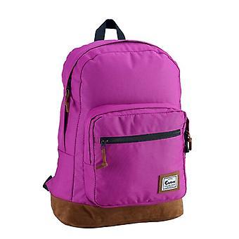 Caribee Classic Retro Backpack 26L - Berry