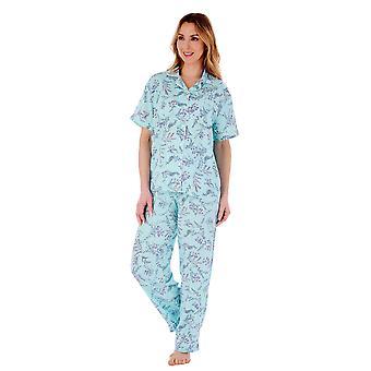 Slenderella PJ77243 Women's Floral Pyjama Set