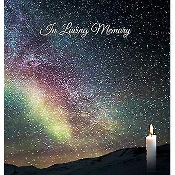 """Funeral Guest Book """"In Loving Memory"""" - Memorial Guest Book"""