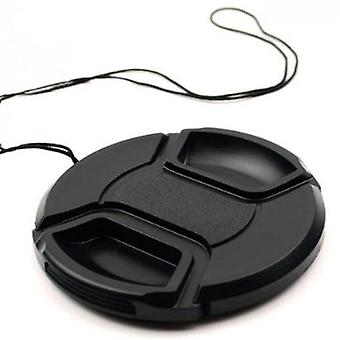 Camera Lens Cap - Snap On Center Para Canon/nikon/sony