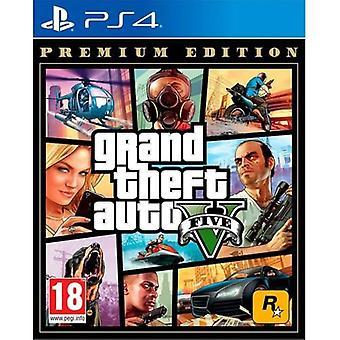Original Playstation 4 Game Grand Theft Auto