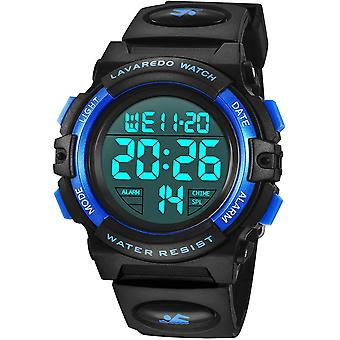 Kids Watch,Boys Watch for 6-15 Year Old Boys,Digital Sport Outdoor Multifunctional Chronograph LED