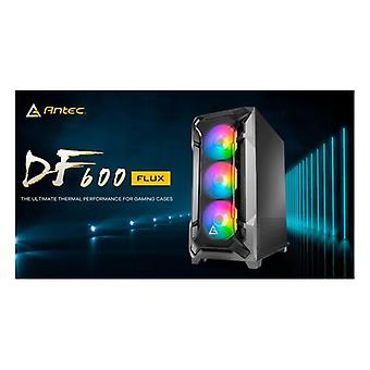 Antec Df600 Flux High Airflow Atx Tempered Glass With 3X Argb Fans