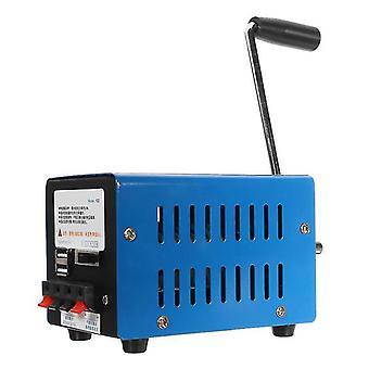 High power dynamo lader draagbare noodhand power hand crank usb opladen noodoverleving hand crank generator