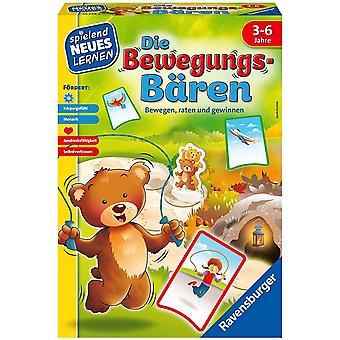 HanFei 20568 - Die Bewegungs-Bren - Spiele und Lernen fr Kinder, das Bewegungsspiel fr Kinder von