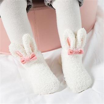 Tytöt Sukat, Vastasyntynyt pehmeä söpö kani vauvan sukat