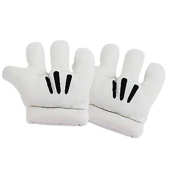 Mickey Cosplay Gloves Funny Anime Costume For Party Performance White