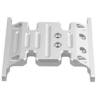 RC1:10 4WD Center Skid Transmissieplaat Zilver voor AXIAL SCX10