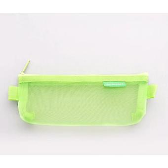 Kawaii Transparent Mesh Pencil Case