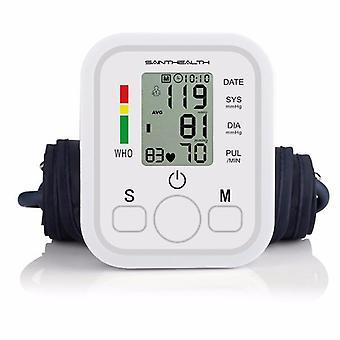Monitor de presión arterial en la parte superior del brazo lcd de atención médica