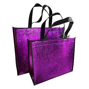 תיק קניות בלייזר אופנה, שקיות אקו מתקפלות