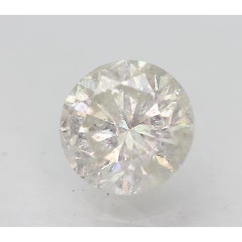 Sertifioitu 1,62 karat G SI2 pyöreä brilliant parannettu luonnollinen löysä timantti 7,38mm