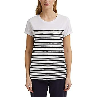 ESPRIT Collection 031EO1K310 T-Shirt, 110/white off, XL Donna