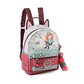 Forever Ninette Ninette Swing-Soft Rucksack Casual Backpack, 32 cm, 14 liters, Multicolor (Multicolour)
