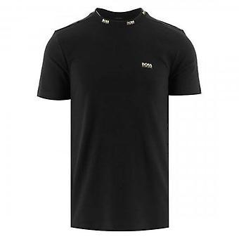 Boss Green Hugo Boss Tee Gold 1 Black 001 T-Shirt 50448686