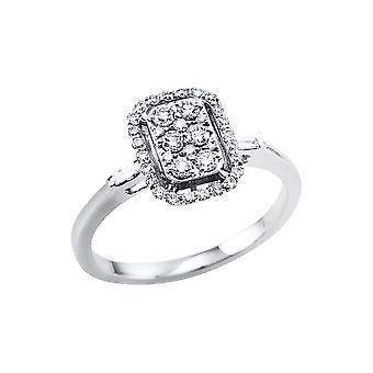 לונה יצירה Promessa טבעת אשליה 1V495W454-1 - רוחב טבעת: 54