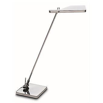 LED-skrivbord uppgiftslampa metallisk svart IP20 4.8W 3000K