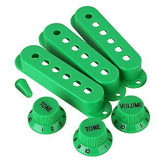 ل3pcs الأخضر لفائف واحدة بيك اب الغطاء 48/50/52 و 1V2T المقابض للغيتار الكهربائي WS2342
