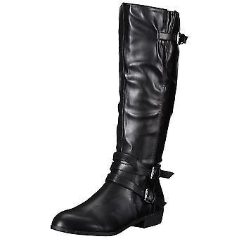 Madden Girl Womens Opus Closed Toe Knee High Fashion Boots