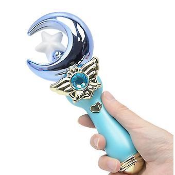 Modré rozsvícení hudební princezna magic w dívka toy karikatura blikající vedl w zářící toy dt4922