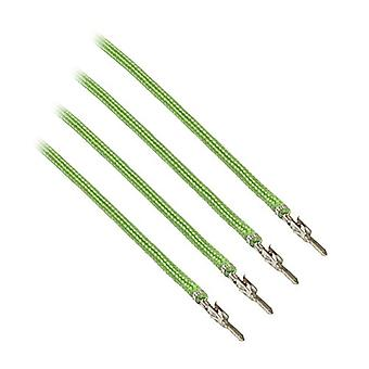 CableMod ModFlex Sleeved Cable Light Green 20cm - 4 Pack