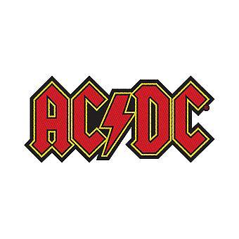 AC/DC - Patch standard de découpe de logo