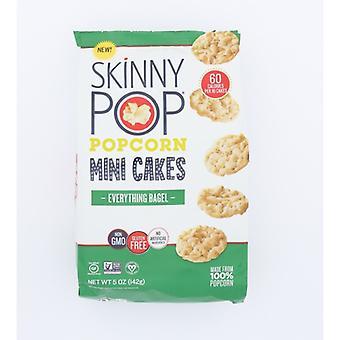 Skinny Pop Rice Cakes Ebrythng Bagel, Case of 12 X 5 Oz
