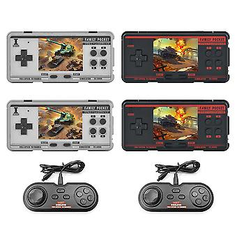 Fc3000 v2 classic handheld video game console 16g built in 5000 games 10 simulator portable av output support ntsc format