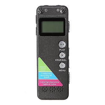 Uppladdningsbar 8G Digital Ljud Ljud Röstinspelare penna MP3 Player Inspelning