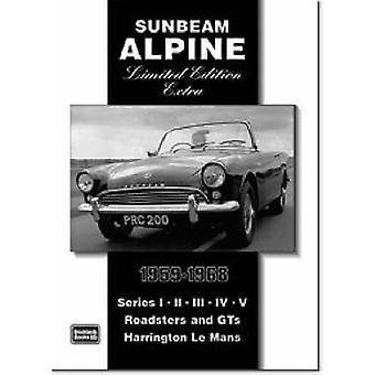 Sunbeam Alpine Limited Edition Extra 19591968 von R M Clarke