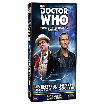 Doctor Who Time of the Daleks Seventh Doctor and Ninth Doctor Expansion