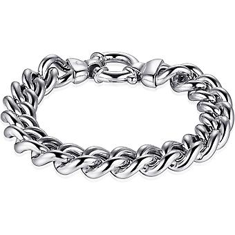 Gisser Jewels - Bracelet - Gerhodineerd Sterling Silver - longueur 21 cm