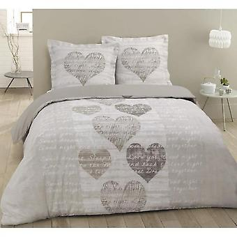Heart Design Alice Quilt Set