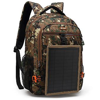 Solar Charging Men's Backpack Outdoor Multi-functional Mountaineering Bag Leisure Travel Large-capacity Luggage Backpack