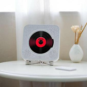 רדיו Fm נגן תקליטורים רכוב על קיר Bluetooth