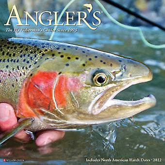 Anglers 2022 Wall Calendar by Willow Creek Press