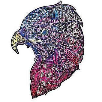 Jigsaw puzzles eagle jigsaw puzzle piece game for kids and adults a4