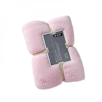 Bath towels washcloths serviette de bain pour dames en tissu microfibre 150*75cm-pink