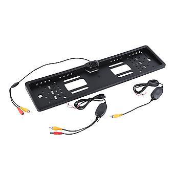 גיבוי רכב אלחוטי לוחית רישוי מסגרת אחורית להציג חניה מצלמה הפוכה Swx-021