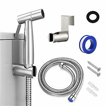 Bidémunstycke ToalettSpraypistol (rostfritt stålsats (1/2 avdelare))