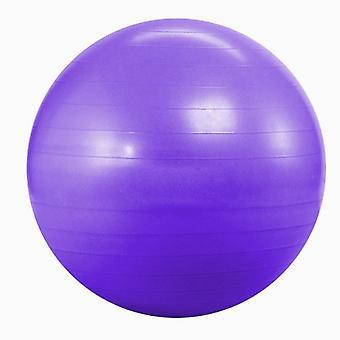 Kabalo violet 65cm ANTI-BURST GYM Suisse YOGA FITNESS ballon d'exercice pour la grossesse, accouchement, etc. (y compris la pompe)