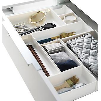 Tiroir en plastique Organisateur Set Desk Range Box Kit Multi-usage
