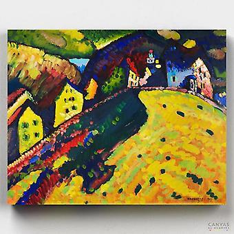 בתים במורנאו - וסילי קנדינסקי